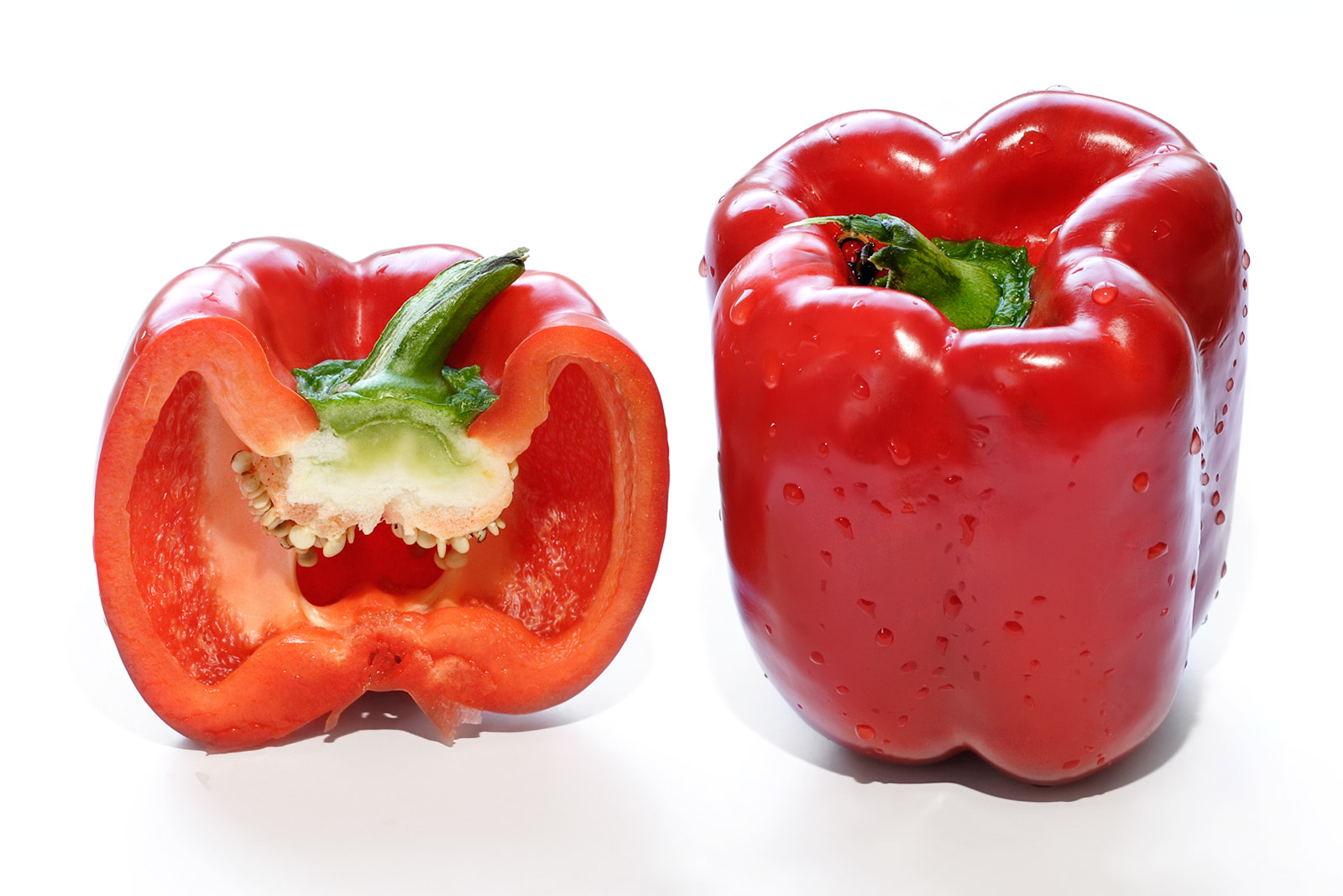 red bell pepper | Patrishka's Open Mouth