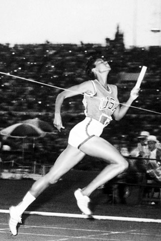 Wilma Rudolph was now a hero
