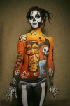 2008 World Body Painting Festival in Daegu, South Korea.