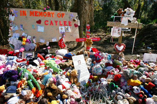The site where Caylee Anthony's body is found.