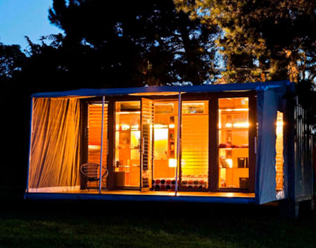 Can t afford your dream home go green patrishka 39 s open mouth - Ecopod container home ...