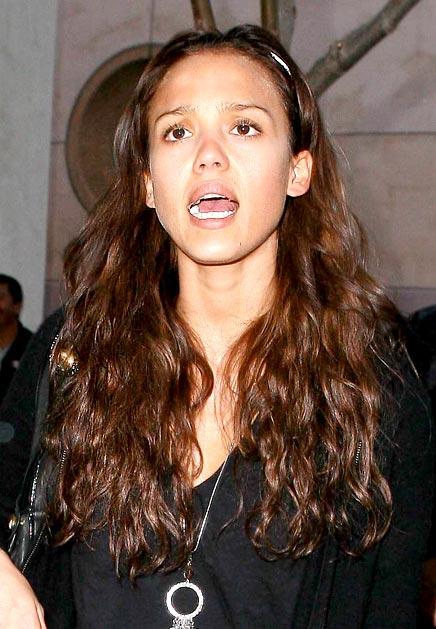 Jessica Alba Patrishkas Open Mouth