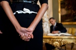 first-lady-michelle-obama-waits-for-president-barack-obama
