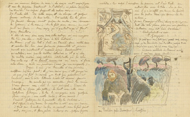 van gogh letters letter from paul gauguin patrishka s open 25414