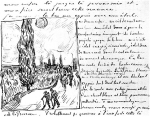 vincent-van-gogh-letter-643-sketch-cypres