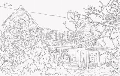 Grey Gardens Coloring Books Patrishka 39 s Open Mouth