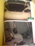 Casey Anthony car trunk and backseat - Exhibits 10, 11 in Cindy Anthony's deposition