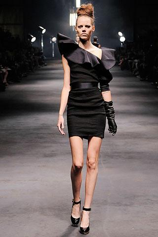 Freja Beha Erichsen in black
